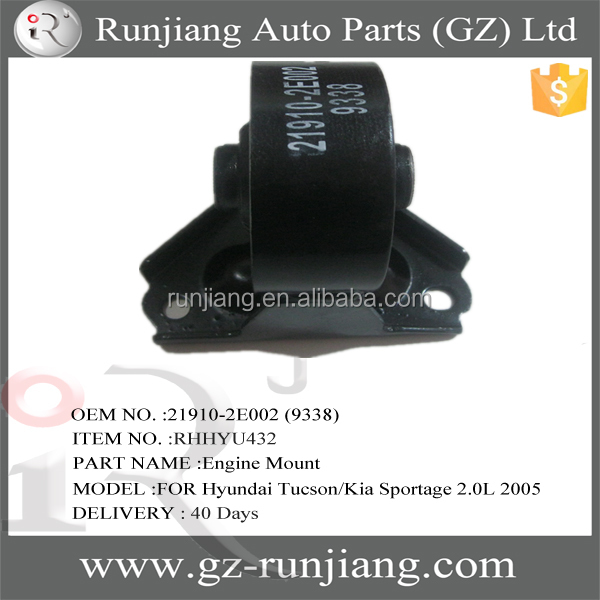 OE:21910-2E002 (9338) good quality engine mounts for Tucson & Sportage