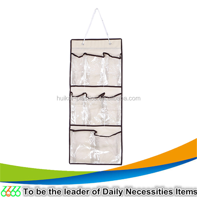China product fabric hanging wall storage organizer shoes hanging door organizer