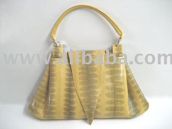 Leather Products, Python / Snake Skin Leather Handbags, Bags, Briefcases, Clutch