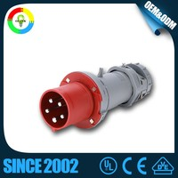 Newest Types 3 Pins 220v Industrial Plug Socket Electrical Pin Plug