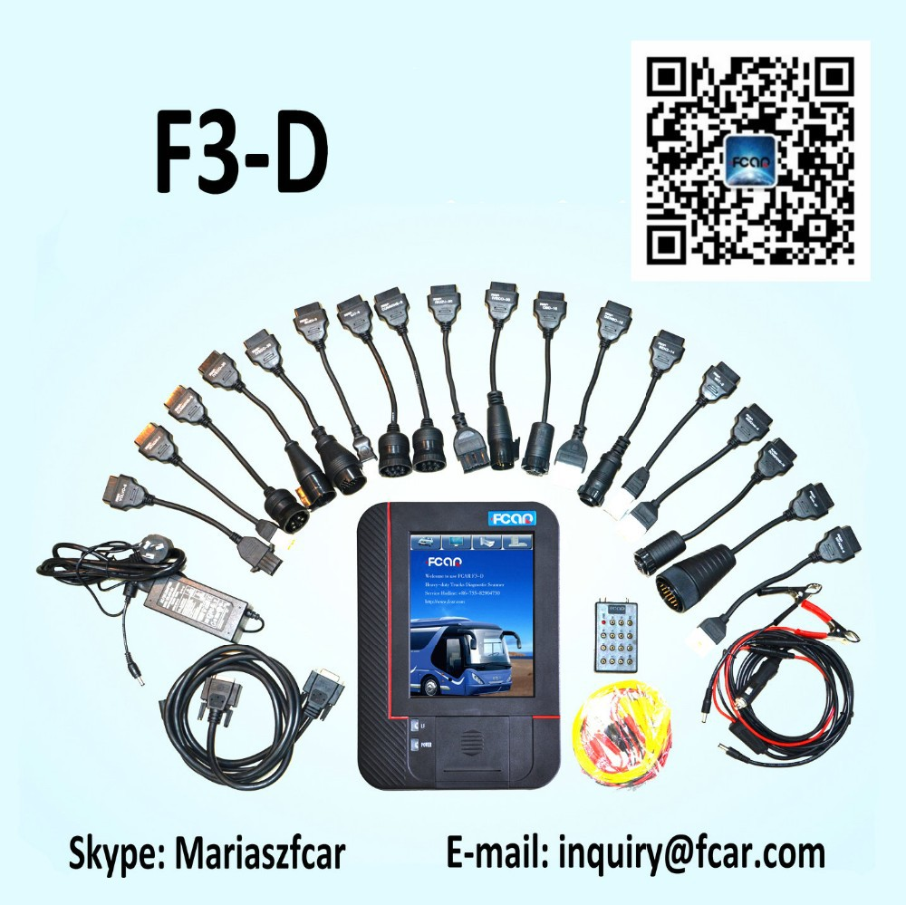 International Truck Diagnostic Scanner, Fcar F3-D