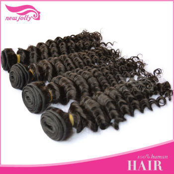 Best quality Grade AAA virgin Peruvian hair 14-24 inch in stock