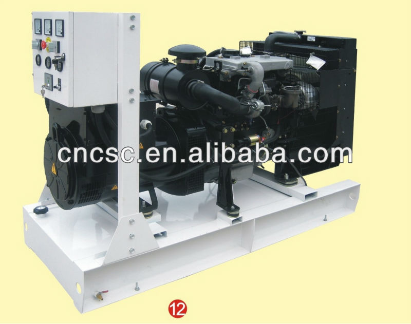 40kva-60kva Lovol diesel generator without canopy
