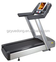 Commercial fitness gym treadmill with TV