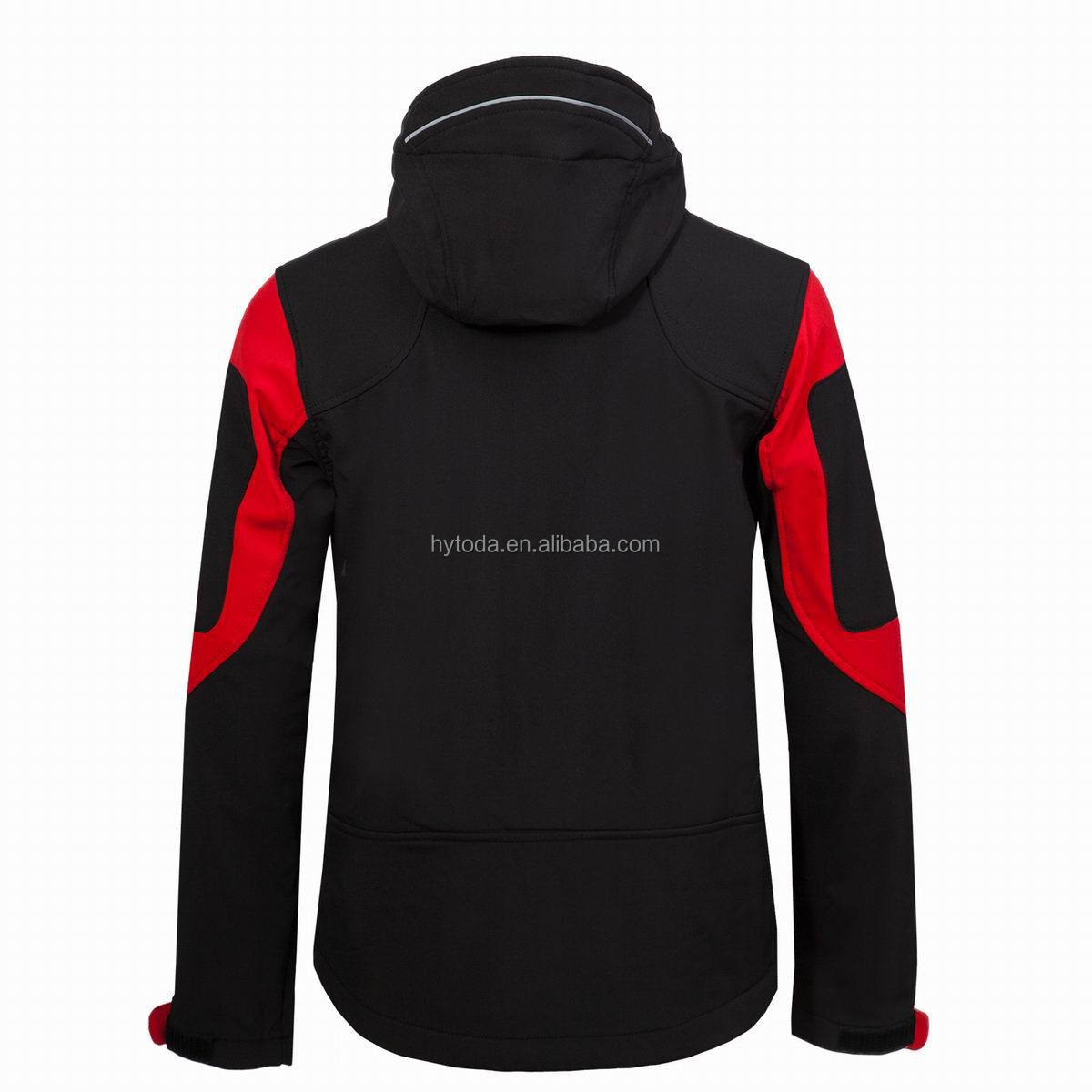 Mens jacket red embroidery jacket water proof man softshell