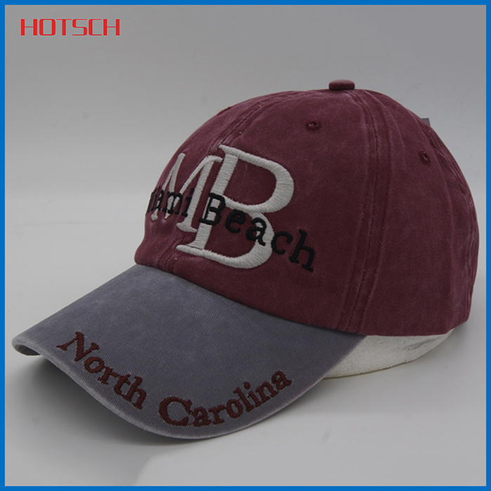 Novelties wholesale china embroidered baseball cap