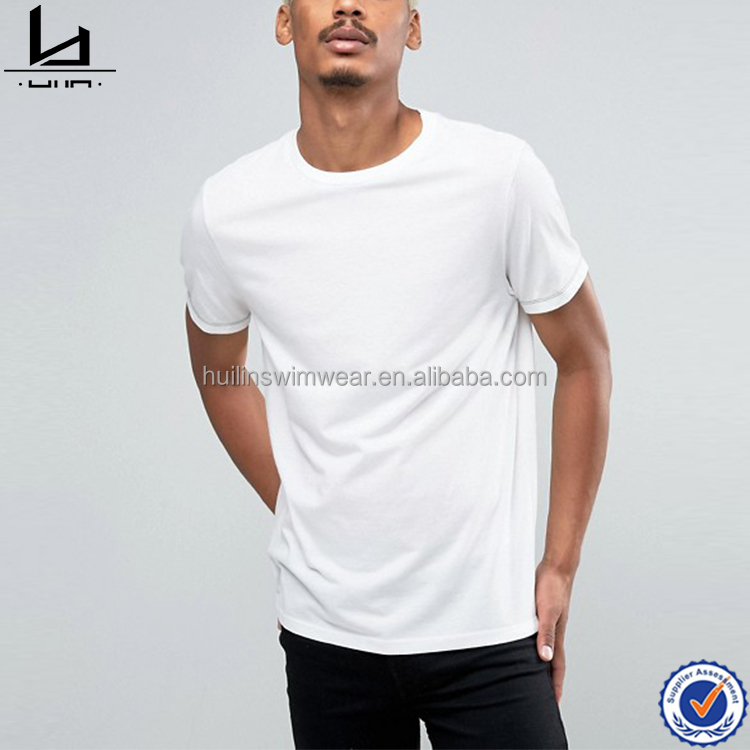 China clothing manufacturers plain white crewneck t-shirts comfort colors t-shirts
