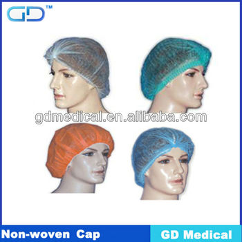 Head protection Non-woven cap