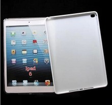 Factory Price For iPad Air 2 Matte Soft matte TPU Cover Case Mix Colors