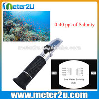 Salinity refractometer index table list of manufacturing company