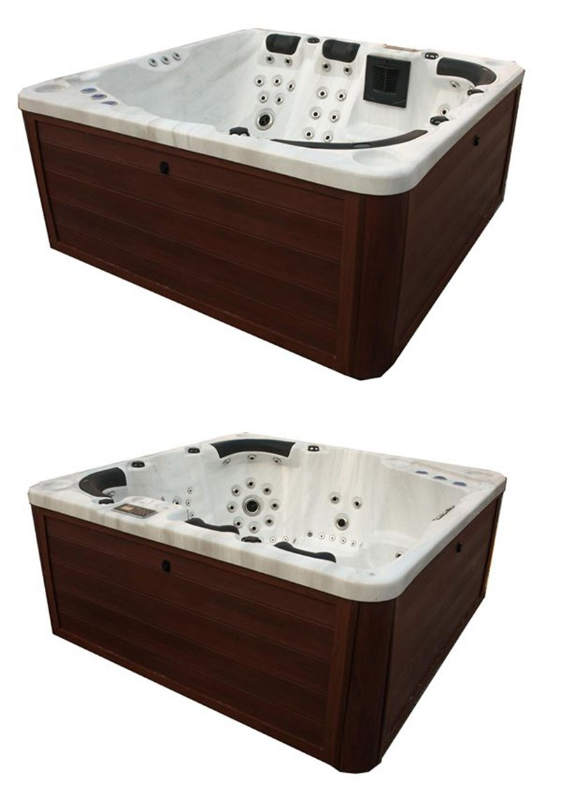 Hot European Style Whirlpool Hot Tub Massage outdoor spa
