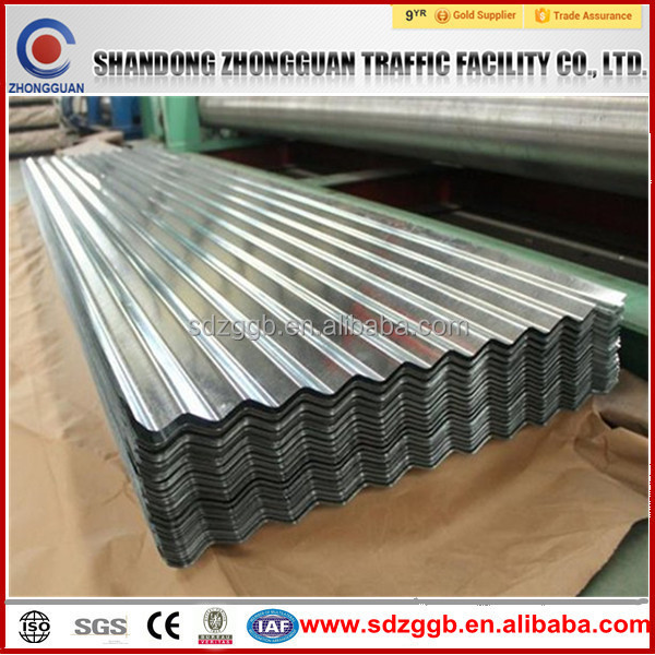 hot dipped galvanized corrugated metal roofing sheet ISO9001:2008; BV; SGS Factory in competitive price