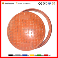 EN124 D400 900mm Gas Meter Station Petrol Manhole Cover smc/bmc manhole cover for sale