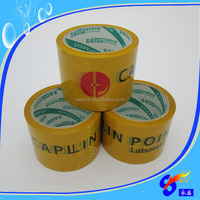 Custom logo orange Printed Adhesive Sealing Opp Packing Tape