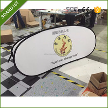 Outdoor Horizontal Oval Pop Up Banner,Pop up A frame banner