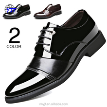 Fashion Men Casual Leather Shoes Men's Flat Business PU Shoes