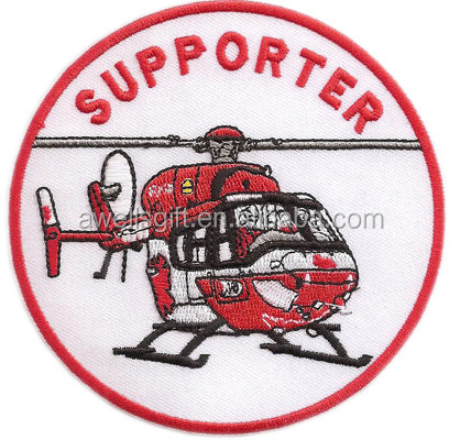 SUPPORTER RTH ITH DRF Helicopter Iron Patch Badge