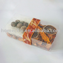 China manufacturer customized new durable orange potpourri for holiday gift