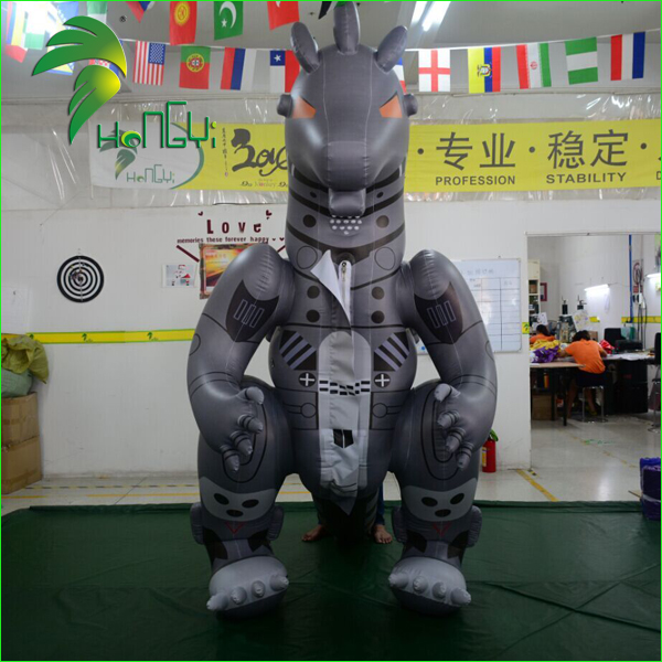 Amazing Design Customized Inflatable Dragon Costume , Inflatable Cartoon Suit