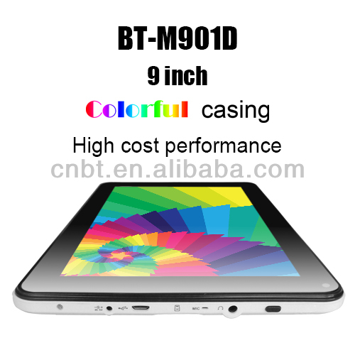 Hot sale 9 inch super hd 2160p tablet pc with Plastic case