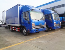 JAC high end SHUAILING 4x2 4 5 tons cold room van freezer truck refrigerated vehicle for hot sale