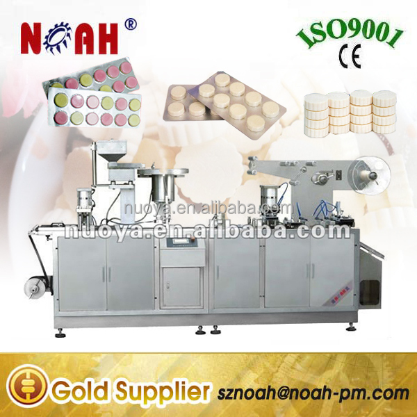 DPB250 Milk Tablet Blister Packaging Machine