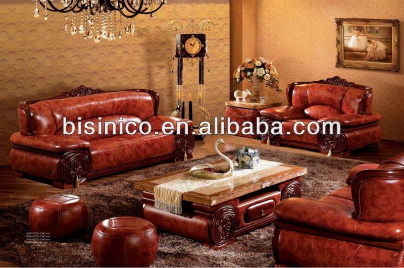 Thai klassische wohnzimmer sofa gesetzt luxus echte laether s dostasien stil m bel marmor - Klassische wohnzimmer ...