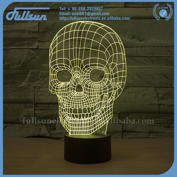 FS-2815 table lamp 3d lighting led light cube lamp