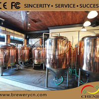 2000L Beer Brewery Equipment For Brewpubs