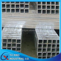 asian 25.4*25.4mm square galvnaized tub ,square galvanized pipe ,square galvanized piping