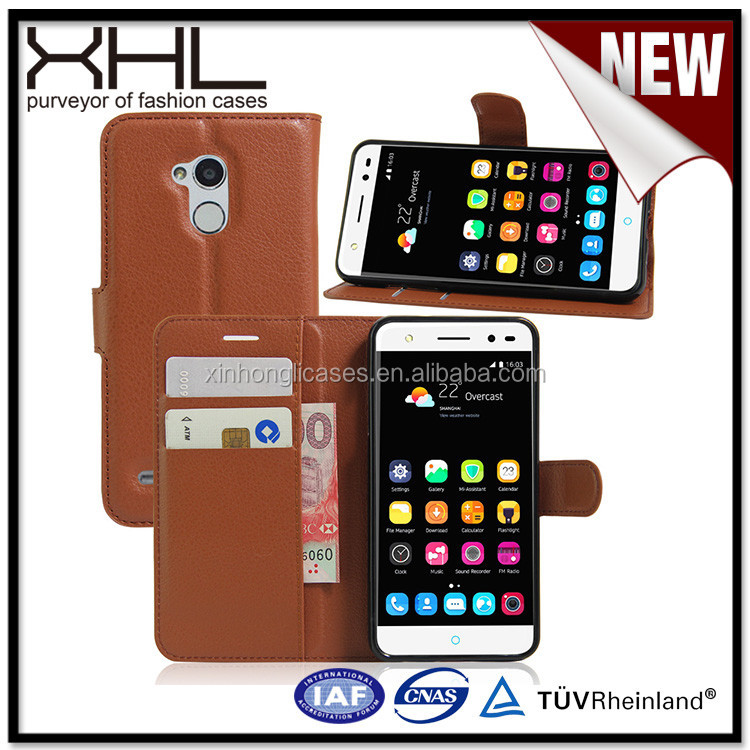 Wallet style leather for ZTE V7 Universal,for ZTE V6 plus blank cellphone case