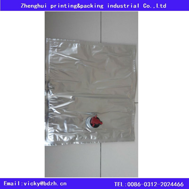 aluminum foil laminated wine bag