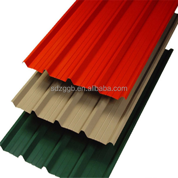 Hot Dipped ZINCALUME / GALVALUME/ Galvanized steel corrugated roof panel / wall panel / plate /sheet
