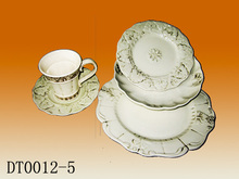 China suppliers products ceramic tableware used china dinnerware