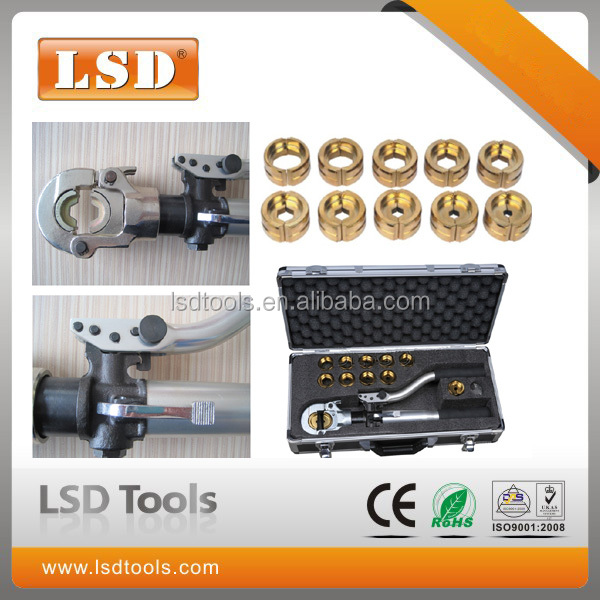 HT-300 manual hydraulic hose crimping tool for cable lug press
