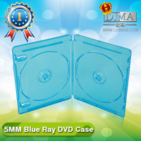 cheap wholesale lots 5MM blu ray case double