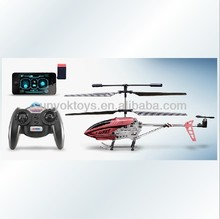 GS250I 3.5CH Infrared mini Alloy with Gyro Light for iPhone / iPad / iPod / iTouch RC i-helicopter