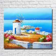 2016 New Sea Bedroom Wall Decor Painting Modern Mediterranean Boats Canvas Best Price Picture Art Bedroom Decorating