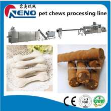 best selling Pet Dog chewing bone snacks food processing line manufactured in China