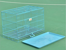 Outdoors large welded dog cages