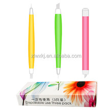 Disposable Eyebrow Embroidery Permanent Tattoo Manual Microblading 3D Eyebrow Pen
