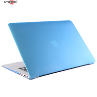 Hot Selling Colorful Translucent Frosted Hard Plastic Protective Case For Macbook air 13 inch