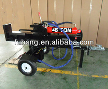 hot selling 45t 610mm log splitter firewood processor