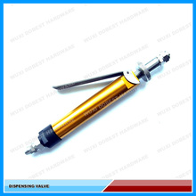 Manual Aluminum alloy dispensing valve/glue for resin and grease