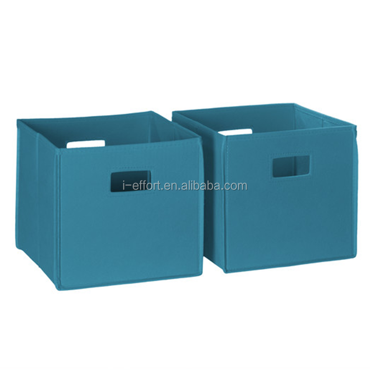 Storage Bins Household Organizer Cube Fabric Boxes Basket