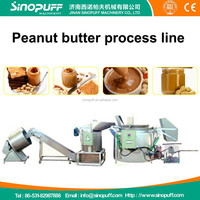 High capacity peanut butter machine/peanut butter process line/peanut butter making machine
