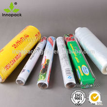 high quality transparent PE preservative film for food packing wholesale