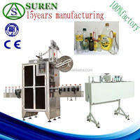 high speed automatic beverage bottle shrink sleeving labeling machine,card sleeve making machine