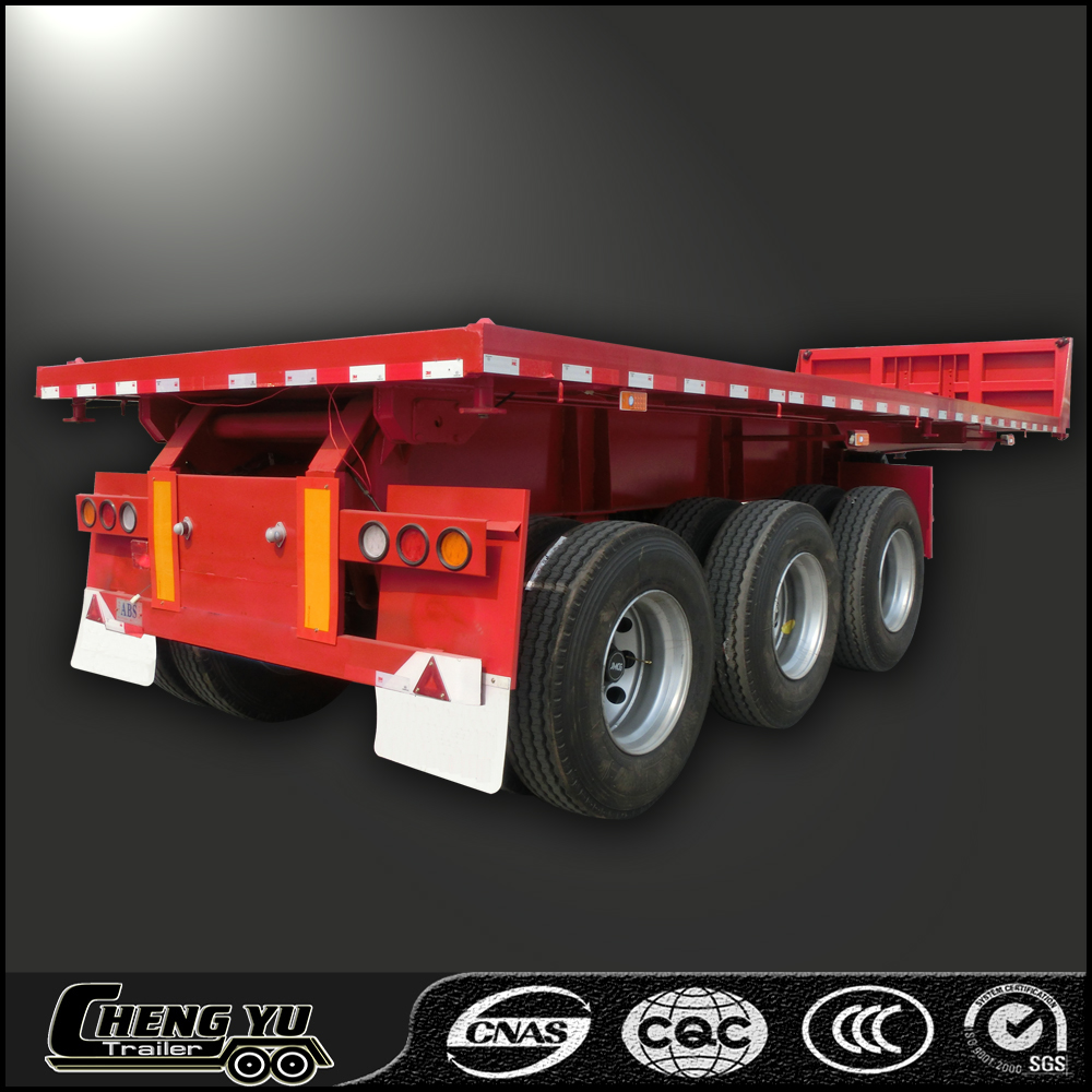 TRI-AXLE DUMP SEMI TRAILER low price with widely used feature
