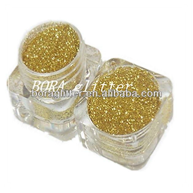 Shining Gold Color Pigment Glitter Powder